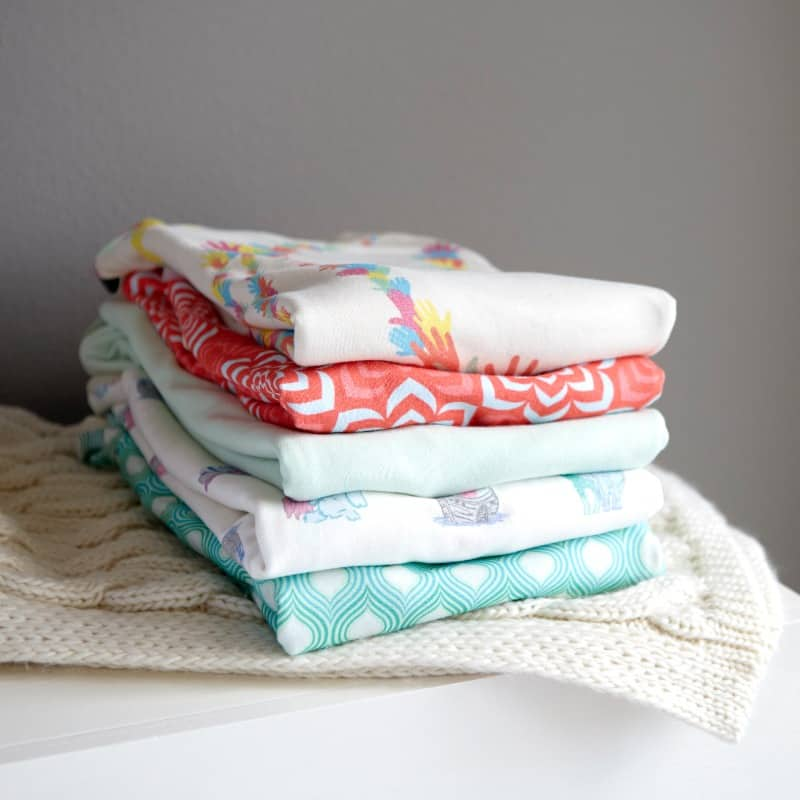 Stacked of Baby Swaddles - Digital Creative - Citizen Best