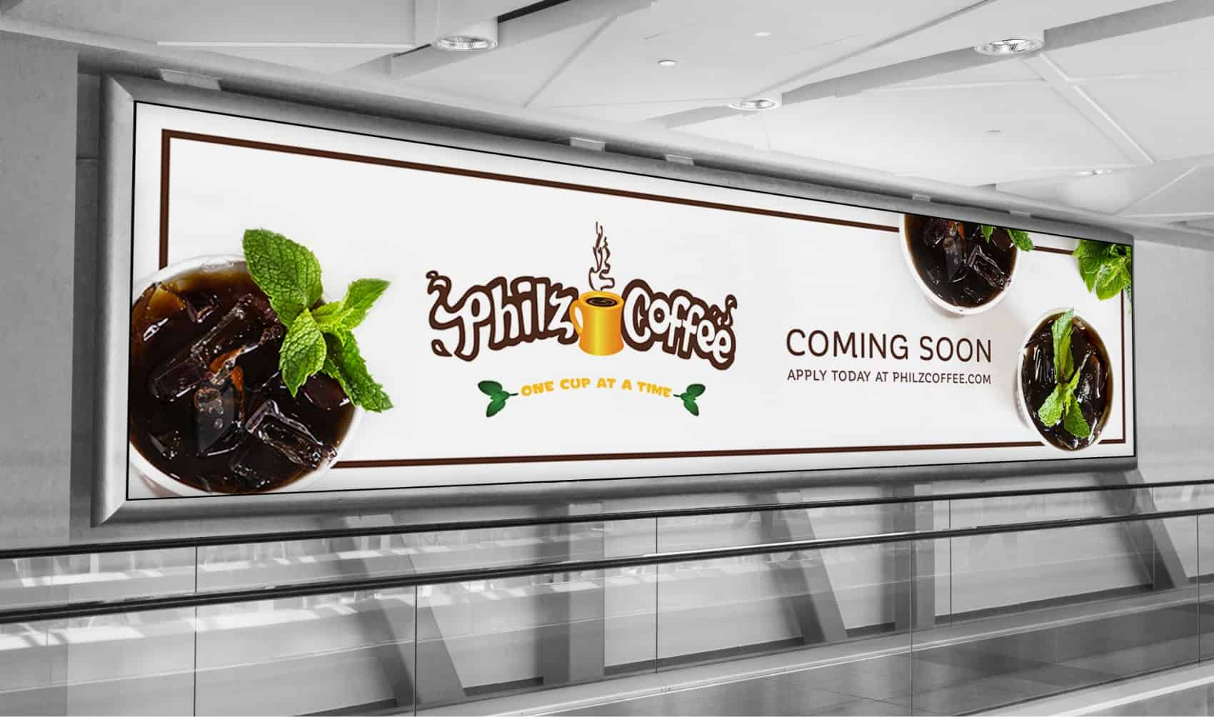 Philz Coffee Banner - Creative Agency Services - Citizen Best