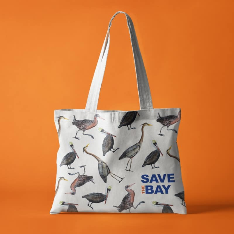 Save The Bay Tote Bag - Creative Agency Services - Citizen Best