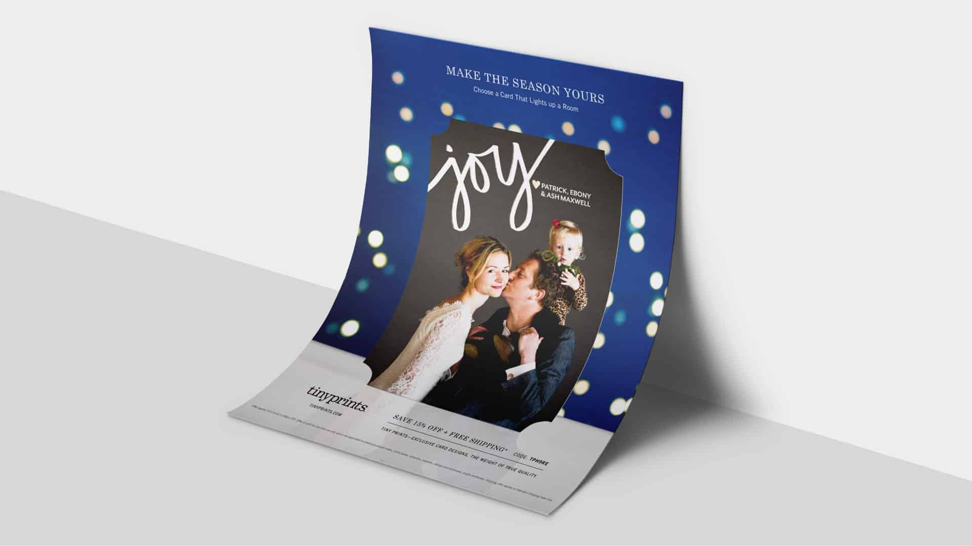 Tiny Prints Make The Season Yours Flyer 2 - Creative Banding Agency - Citizen Best