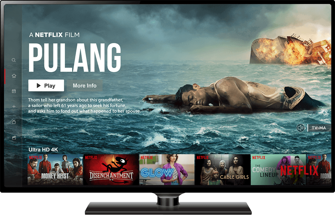 Netflix Pulang on Desktop Screen - Creative Agency - Citizen Best