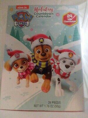 2018 Christmas Advent Holiday Countdown Calendar with 24 Milk Chocolates (Nic...