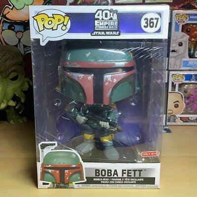 Authentic Boba Fett (10 inch) (Empire Strikes Back) (Futura) Funko Pop Target