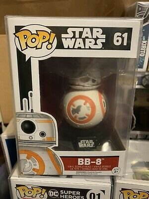 Funko Pop! BB-8 Star Wars *NEW *Protector Rare New Hope RESISTANCE DROID