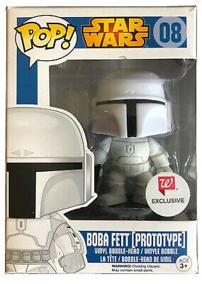 Walgreens Exclusive Boba Fett Prototype #08 Funko Pop New in Box