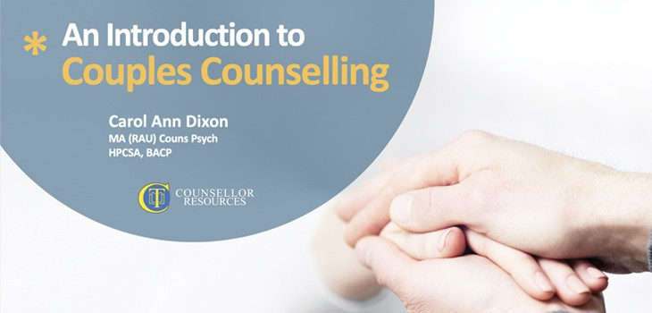 Featured image for Couples Counselling - CPD lecture for counsellors