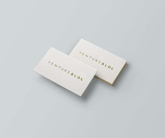 Venture Bloc graphic design