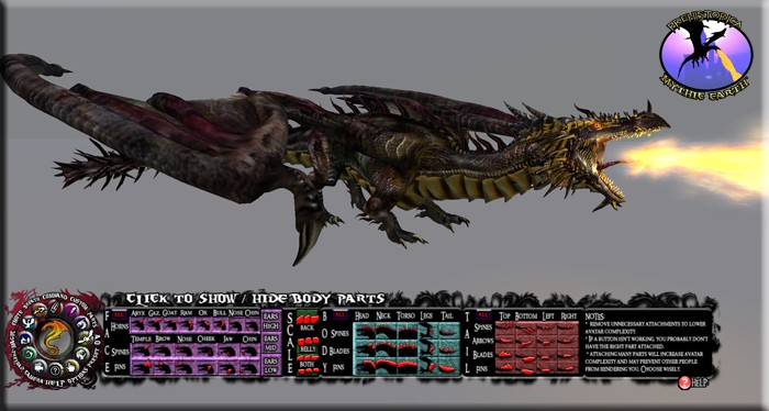 [Dragon Pictures] Dragon Parts Panel