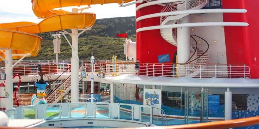 Twist n Spout and AquaLab Disney Magic Transatlantic Cruise