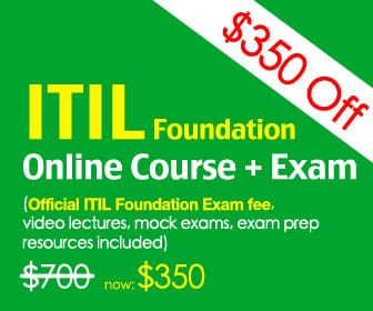 50% discount coupon code for GreyCampus ITIL Foundation online training courses