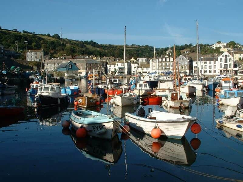 mevagissey in cornwall
