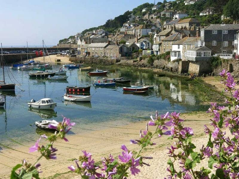cornish village: mousehole