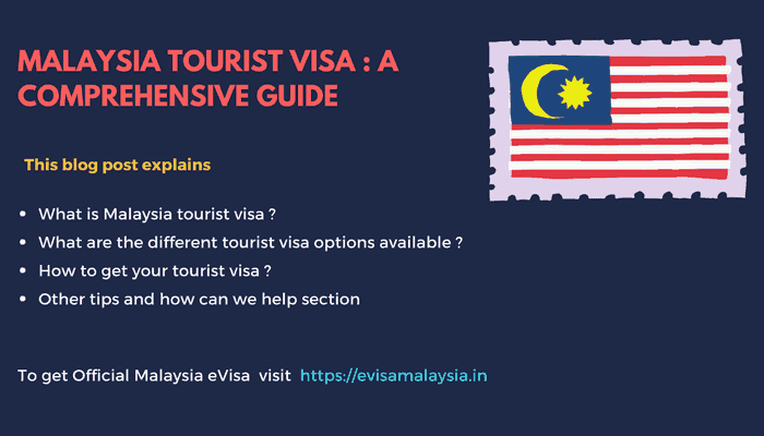 Malaysia Tourist Visa: A Comprehensive Guide