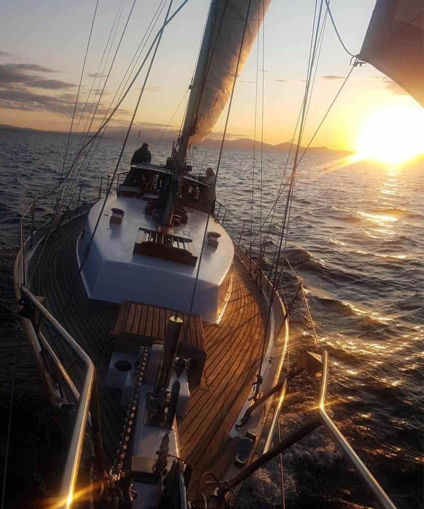 Taupo Sailing Dusk
