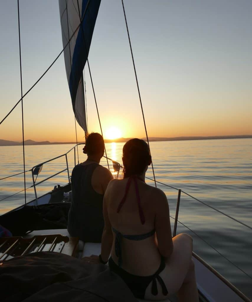 Taupo Sailing Sunset