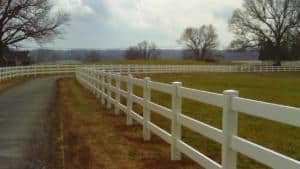 Vinyl Horse Ranch Rail