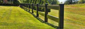 2 rail ranch horse fence-1