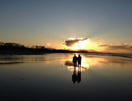 Der wunderschöne Surferort Byron Bay
