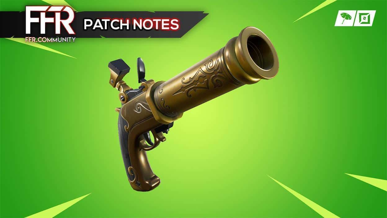 Fortnite BR : Patch notes 8.11