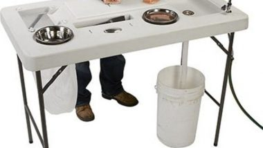 best portable fish cleaning table