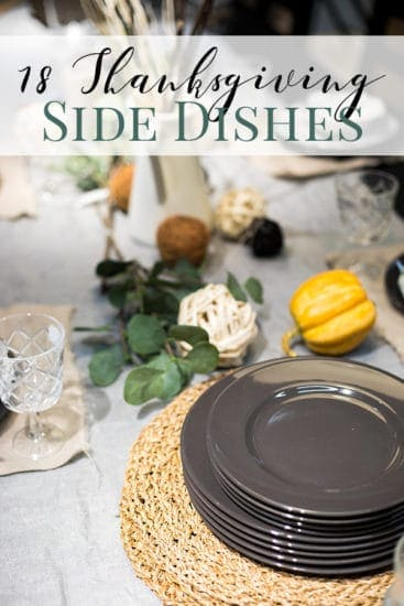 18 Thanksgiving Side Dishes