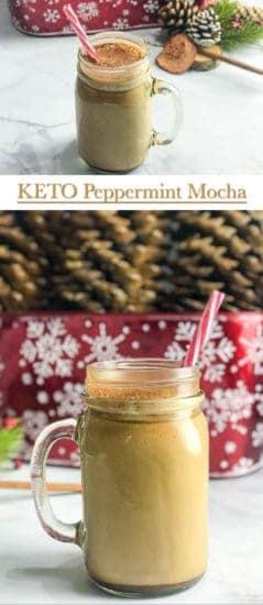 Keto Peppermint Mocha Coffee