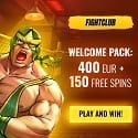 Fight Club Casino 150 free spins and €400 welcome bonus