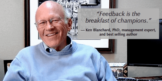 feedback is a key part of skip level 1 on 1 meetings as ken blanchard knows