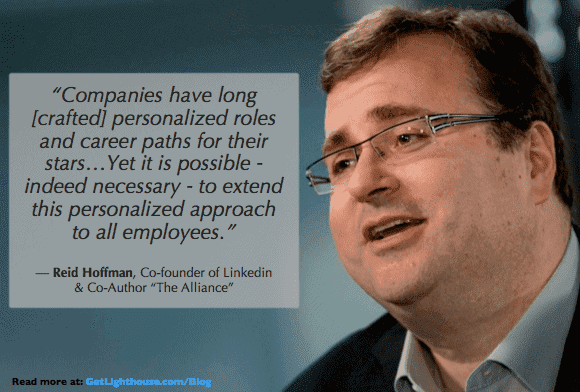One on one meeting questions include career growth as reid hoffman discusses