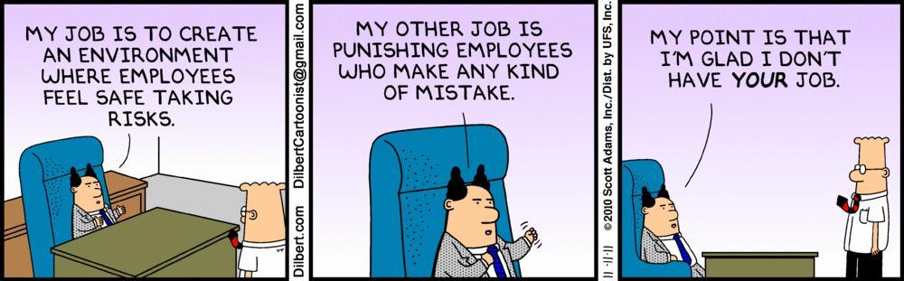 managing up isn't always easy as dilbert knows