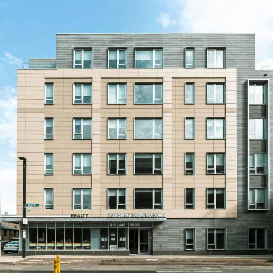 1265 Tremont Street Multifamily Building Exterior