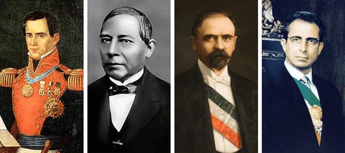 Presidentes de México, lista y descripciones de gobiernos