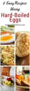Pin Recipes Using Hard Boiled Eggs