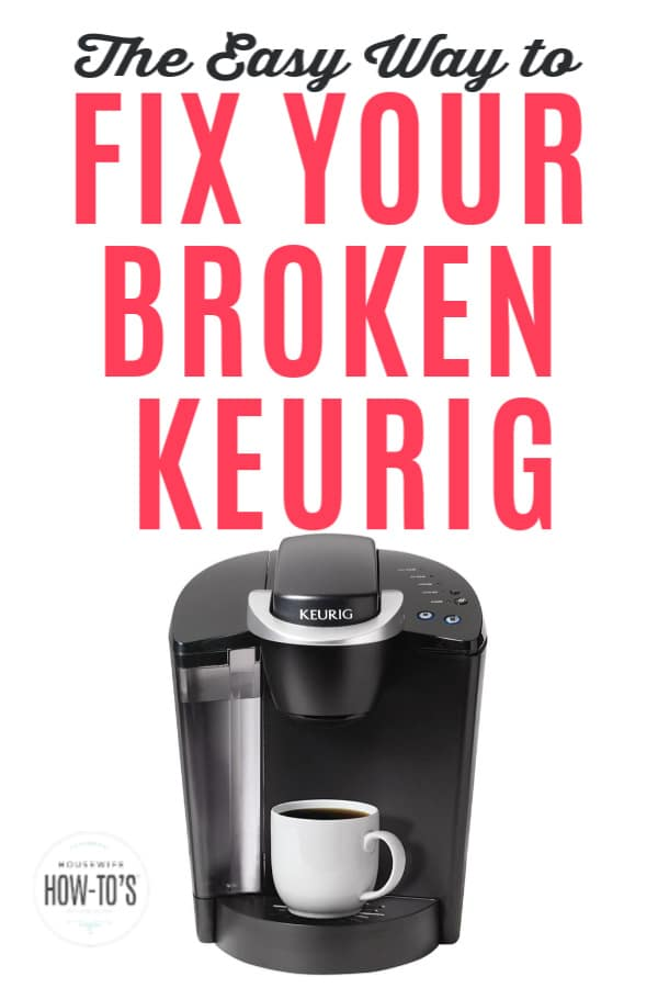 The Easy Way to Fix Your Broken Keurig