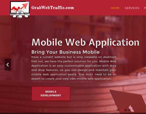 Grab Web Traffic