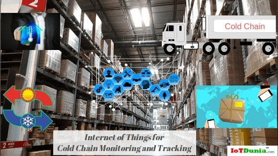 Internet of Things for Cold Chain Monitoring and Tracking