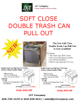 Soft Close Trash Can Pull Outs