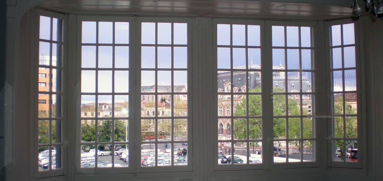 Menuiserie bois fenêtre