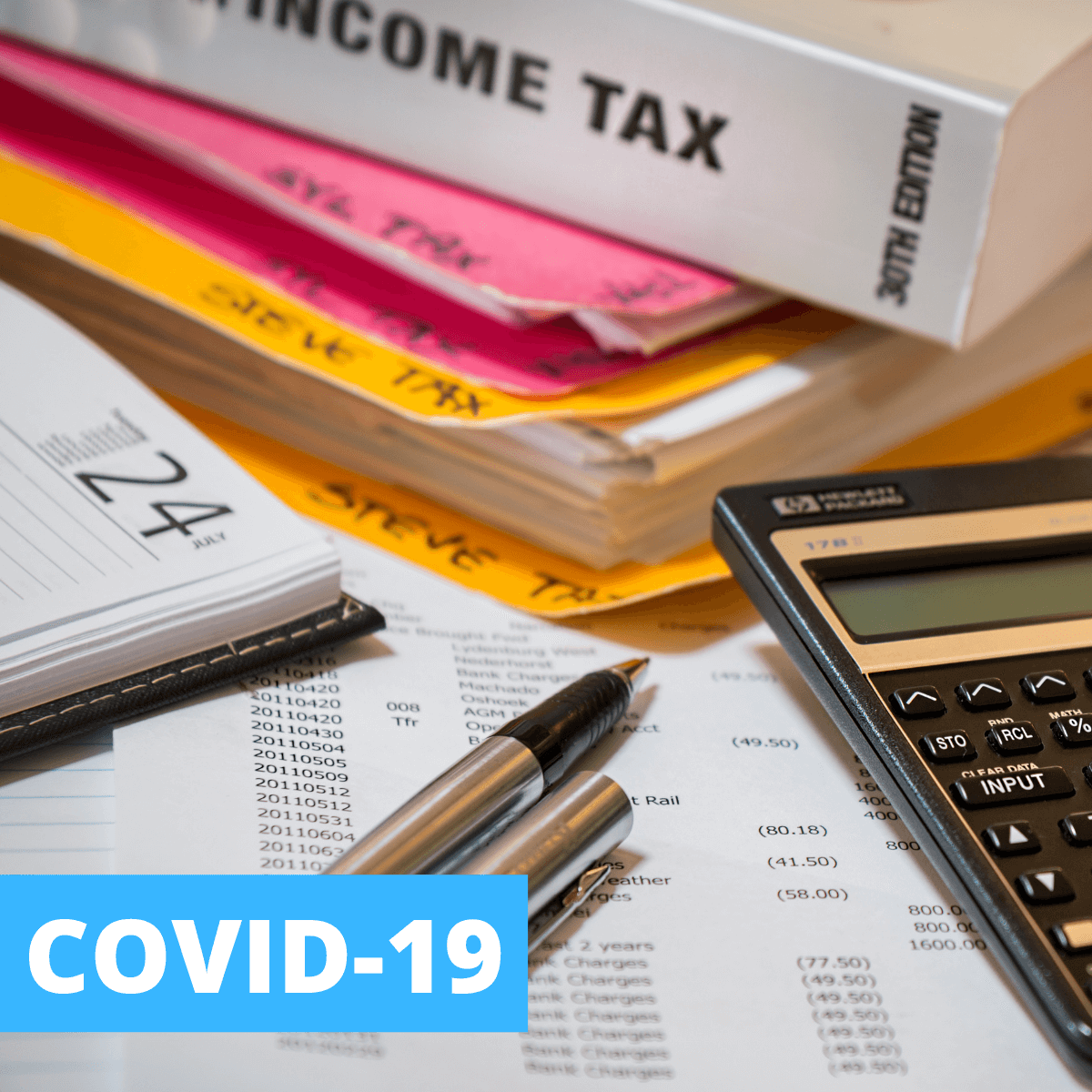 Are Your COVID-19 Benefits Taxable?