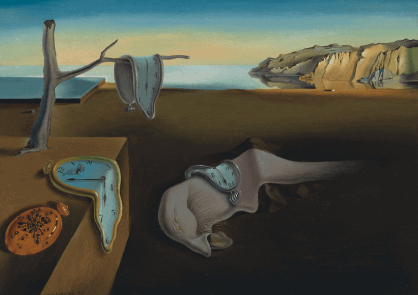 Salvador Dali, The Persistence of Memory, 1931. Photo courtesy MoMA
