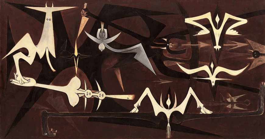 Wifredo Lam Surrealism Art