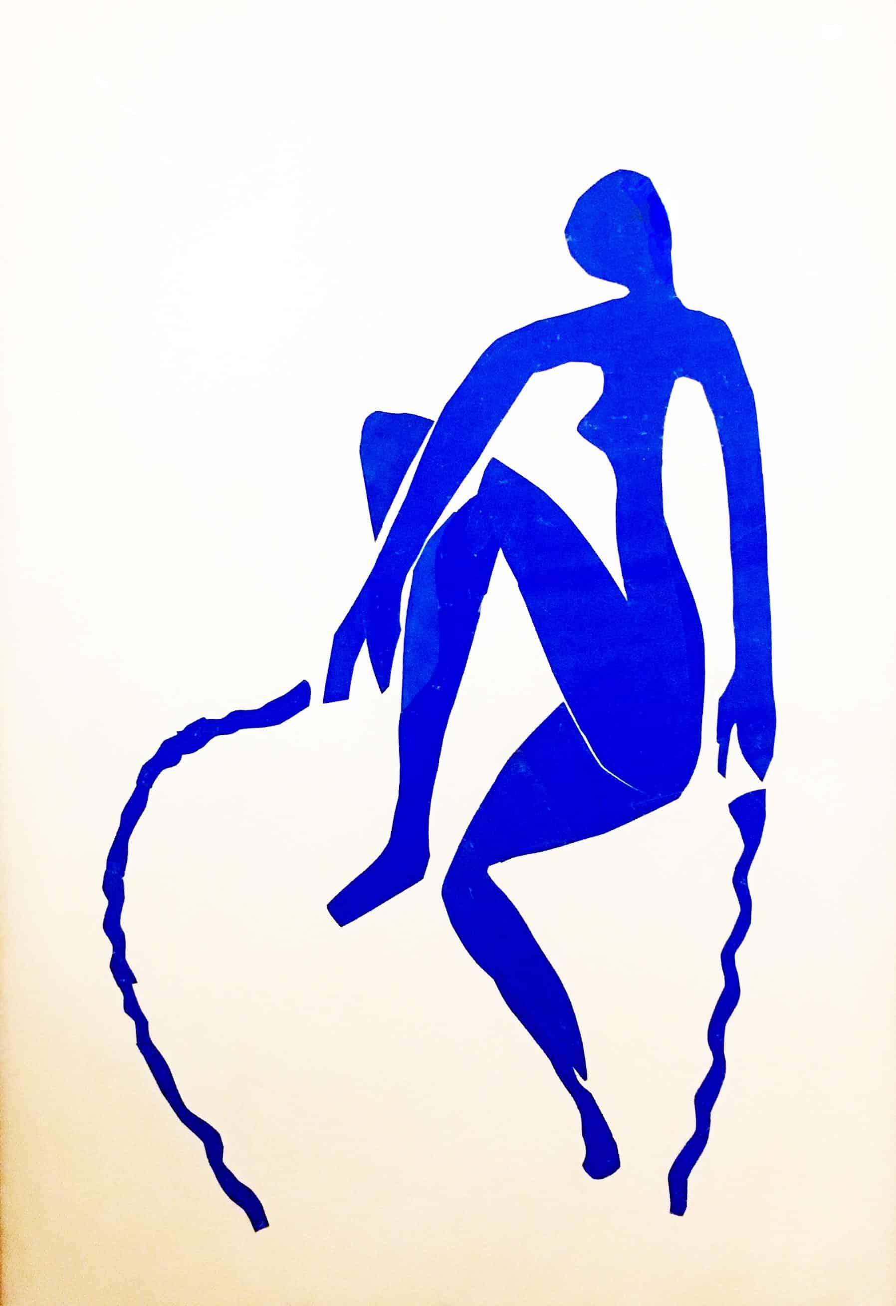 Nude Skipping Rope, Henri Matisse, 1952.