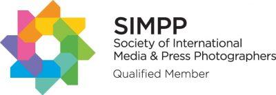 logo for membership of Societry of international media & press photographers