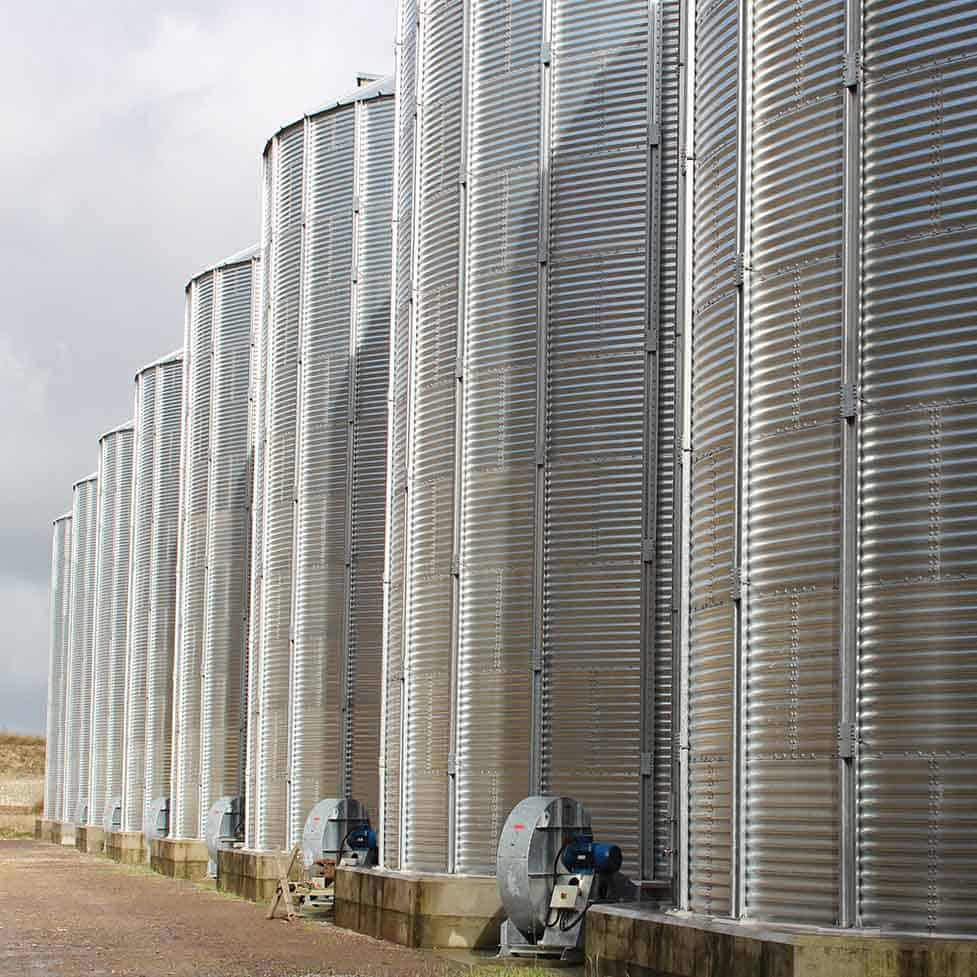 Martin Lishman Crop Storage in Silos