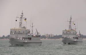 Розпочався похід навчальних катерів ВМС