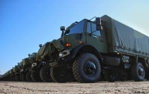 Литва отримала 110 вантажівок Unimog