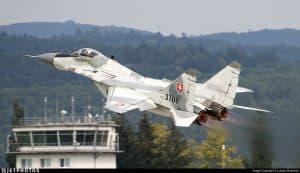 В Словаччині впав МіГ-29