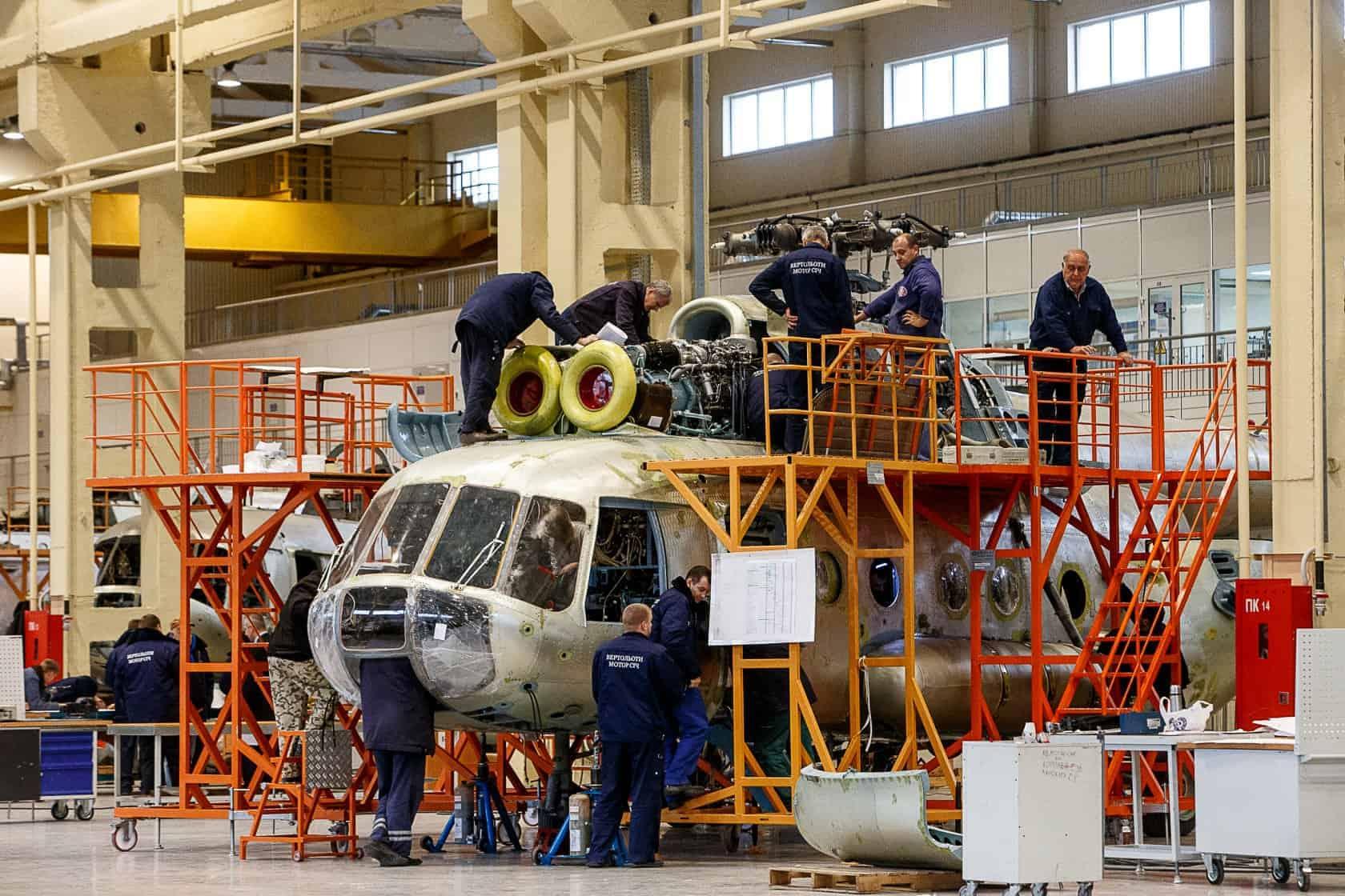 Україна ремонтуватиме гелікоптери типу «Мі» для іноземних замовників