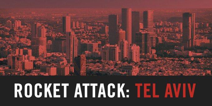 Гібридна світова. По всьому Ізраїлю оголошений рівень загрози – «червоний».