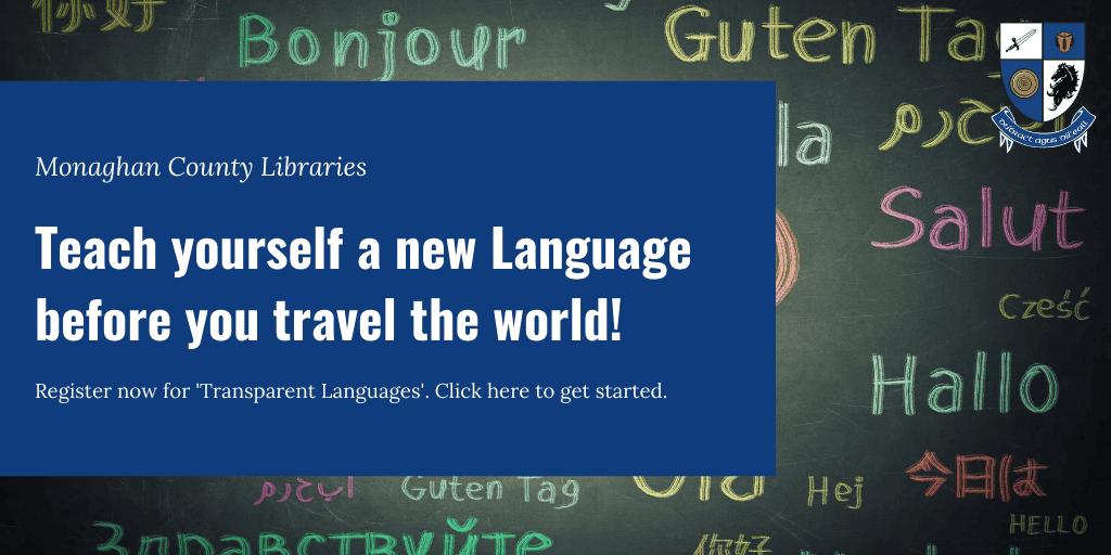 Transparent Language Slider
